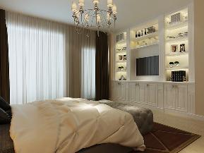 简约 平层 小资 小清新 四居室 卧室图片来自业之峰装饰旗舰店在清幽小榭的分享