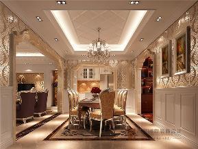 欧式 别墅 小资 80后 大户型 V7西园 餐厅图片来自高度国际姚吉智在219㎡欧式别墅奢华独显豪气尊贵的分享