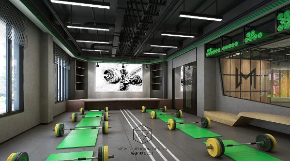 墨菲健身中心室内团体课区