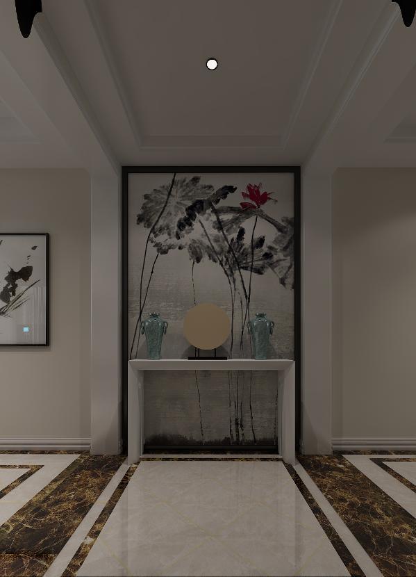 简中式风格设计理念就是如此,从实际出发,从生活品味和生活质量出发,让传统中式在简约风格的结合下焕发新的魅力。
