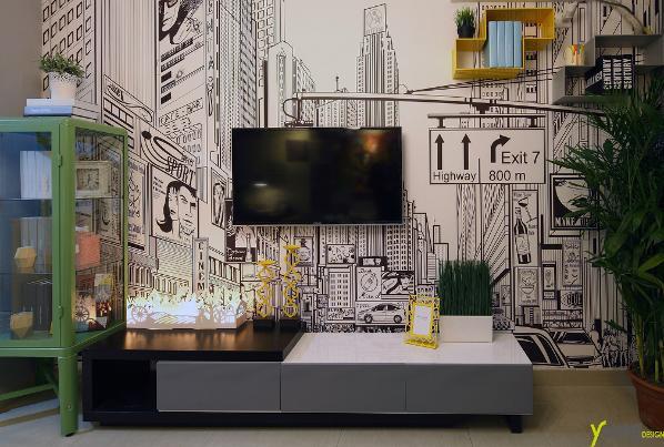 【深圳漾空间设计有限公司】漾设计Young Design——电视墙