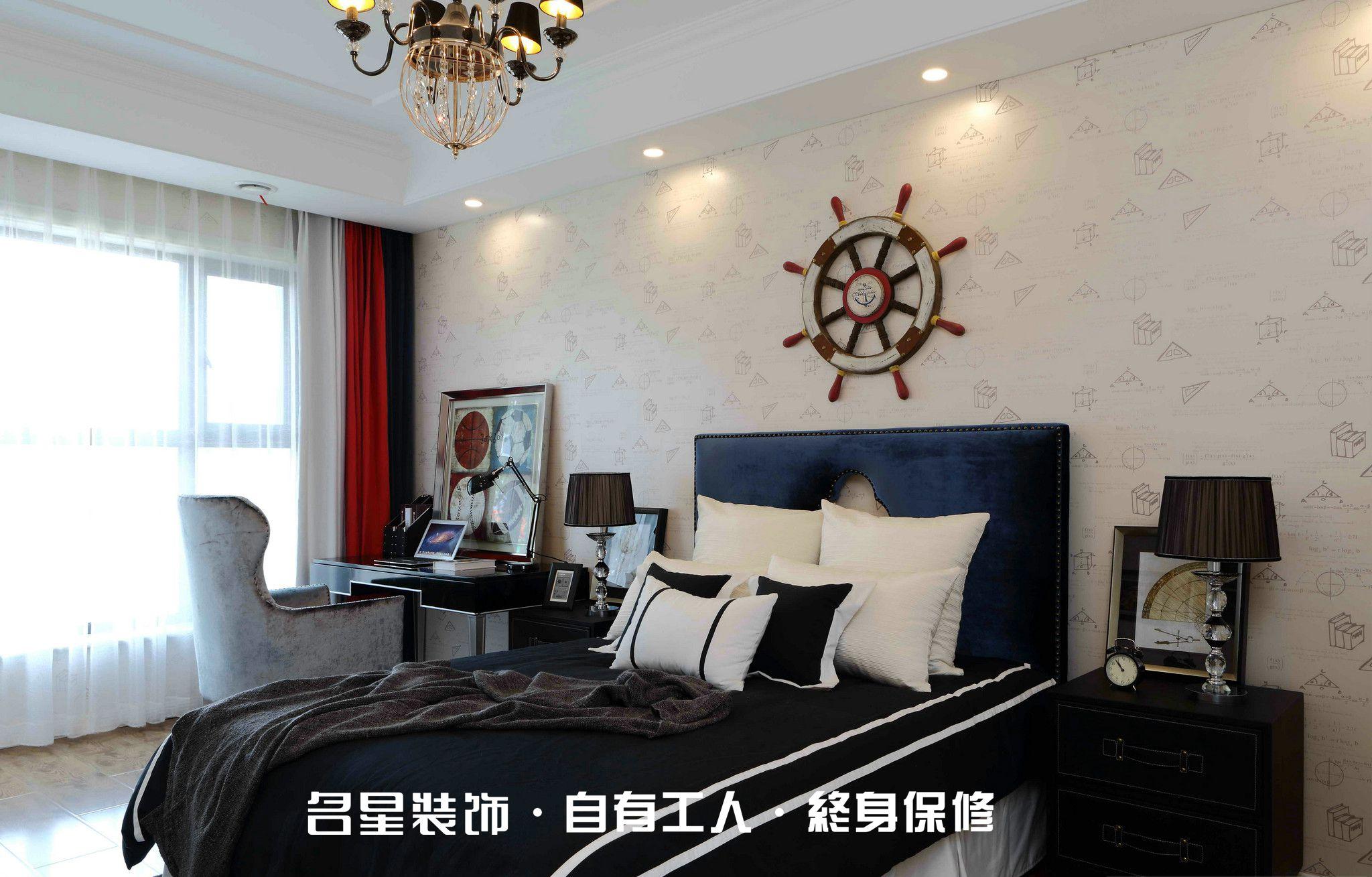 三居 欧式 低奢 卧室图片来自名星装饰在复地东湖国际的分享