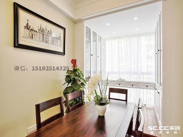 裕龙檀顶山85平两居室装修设计