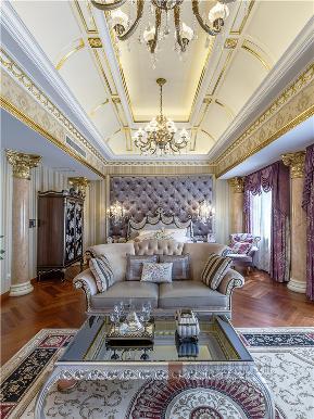 欧式 混搭 别墅 高帅富 大户型 白富美 卧室图片来自高度国际姚吉智在中海九号公馆580㎡第一眼就惊艳的分享