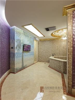 欧式 混搭 别墅 高帅富 大户型 白富美 卫生间图片来自高度国际姚吉智在中海九号公馆580㎡第一眼就惊艳的分享