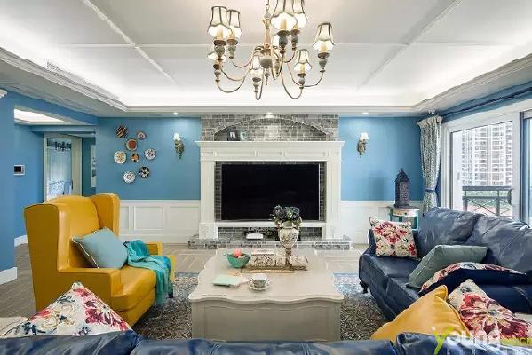 【深圳漾空间设计有限公司】漾设计Young Design——客厅.正是因为这份用心,区别了很多家的设计。接父母同住,是很多在大城市买房一族的愿望。