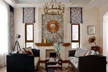177㎡ 美式风格三居室设计
