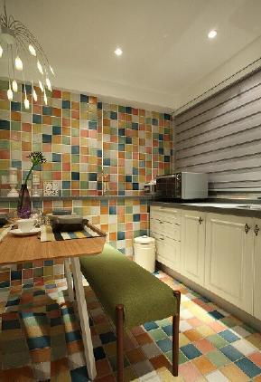 简约 欧式 田园 混搭 旧房改造 80后 小资 厨房图片来自今朝装饰小张在64平老房翻新简单大方,霸气侧漏的分享