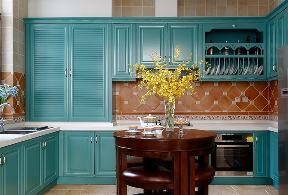 三居 美式 80后 新房 厨房图片来自创之鸿在天房美域 177㎡ 美式风格的分享