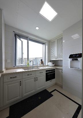 厨房图片来自家装大管家在150平简约美式3居 寻一芳庭院的分享