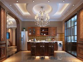 欧式 欧式古典 别墅 小资 高帅富 大户型 誉天下 厨房图片来自高度国际姚吉智在誉天下227㎡欧式古典别墅心载的分享
