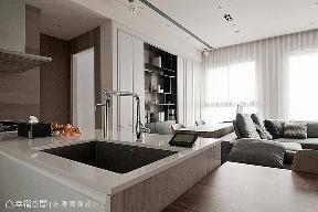 大户型 一居 现代 厨房图片来自幸福空间在左岸香颂 c'est si bon如此美好的分享
