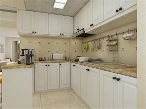 简约 现代 三居 收纳 小资 厨房图片来自阳光力天装饰在力天装饰-诺德名苑-121㎡现代的分享