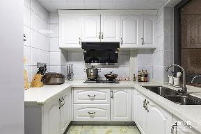 欧式 三居 白领 收纳 小资 别墅 80后 混搭 简约 厨房图片来自中博装饰在御景蓝湾116方简约欧式风格的分享