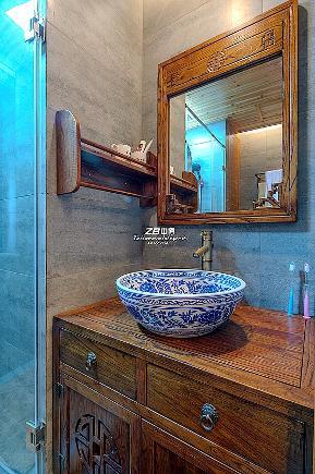 二居 简约 中式 白领 收纳 80后 小资 卫生间图片来自中博装饰在寰宇天下89方新中式典雅生活的分享