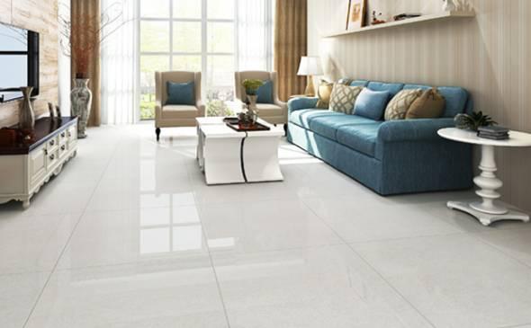 抛光砖是通体砖坯体的表面经过打磨而成的一种光亮的砖,突出优势是坚硬耐磨,适合室内大面积铺贴,客厅、阳台等空间都适合使用。