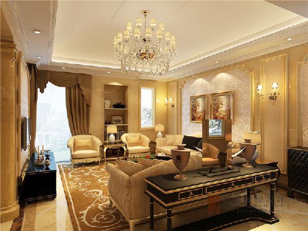 欧式风格在外观上既有浪漫典雅的一面,又有简洁大气的一面,同时也不乏清新明快的感觉,对房子的空间感比较注重。