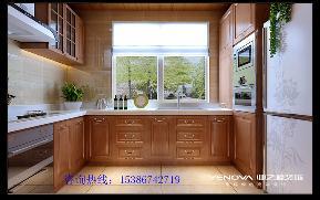 太原业之峰 新中式 漪汾华苑 环保 厨房图片来自太原业之峰诺华装饰杨丽茹在新中式的家的分享