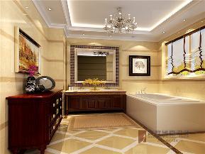 欧式 别墅 小资 大户型 高帅富 白富美 卫生间图片来自高度国际姚吉智在龙湾别墅500㎡古典欧式法则的分享