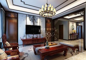 金地铂悦220平别墅设计
