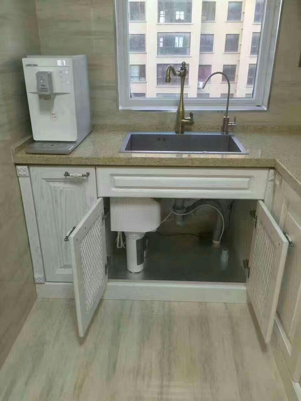 图片来自净饮水系统在100平以下净水器安装案例的分享