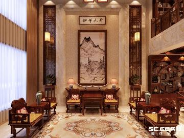 什川 林隐天下别墅新中式装修
