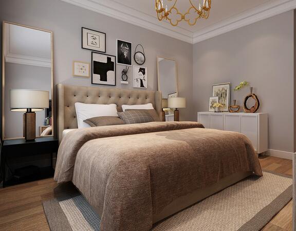 欧式 三居 白领 收纳 旧房改造 80后 小资 卧室图片来自乐粉_20160927144235439在福星惠誉红桥城-欧式风格的分享