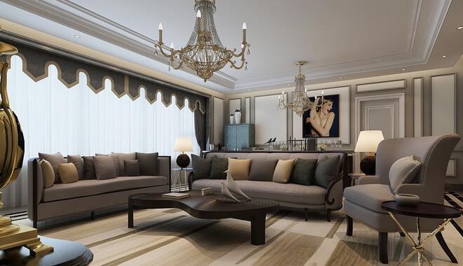 欧式 三居 白领 收纳 旧房改造 80后 小资 客厅图片来自乐粉_20160927144235439在福星惠誉红桥城-欧式风格的分享