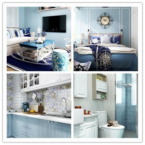 本案例是一套地中海风格的装修案例。地中海风格以蓝白色为主色调,让人仿佛置身于浪漫的爱情海中,设计师根据业主的喜好为其打造了舒适而自由的地中海居室,武汉整装装修空间充满梦幻感。