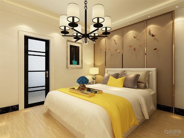 卧室的设计空间合理简洁,从简单舒适中体现生活的精致。