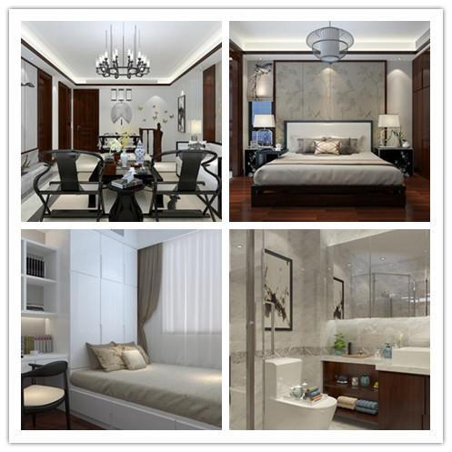 本案例是一套中式风格的装修案例。中式风格的居室充满了古典风情,设计师根据业主的需求为其打造了传统而又不脱离现代的中式居室,利用中式元素来进行装饰,武汉全包装修中式风格功能分区明确。