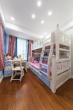 白领 混搭 三居 收纳 80后 小资 文艺青年 舒适 温馨 儿童房图片来自中博装饰在吉祥半岛138方美式混搭舒适居家的分享