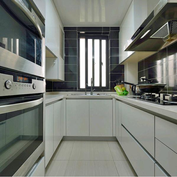 天下玉苑150平—现代简约风格—厨房装修效果图
