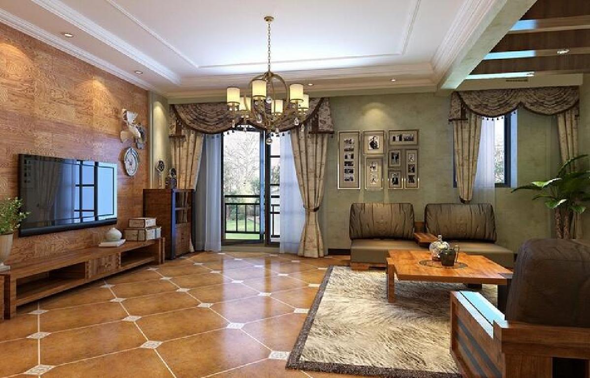 搭配起来给人一种复古的美感,武汉室内装修美式乡村风格更贴近自然
