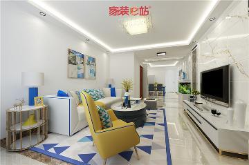 石家庄天悦城现代风格装修案例