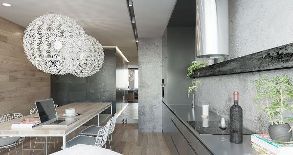 想到水泥墙就不免让人想到以清水模建筑著名的日本建筑师安藤忠雄的作品