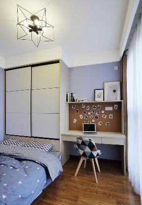 北欧 混搭 二居 80后 卧室图片来自家装大管家在89平清爽北欧之家 年轻人的调调的分享