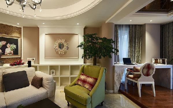 客厅+书房