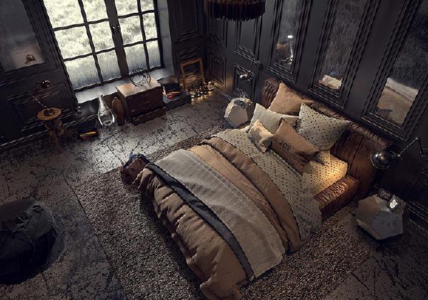 别具一格的卧室