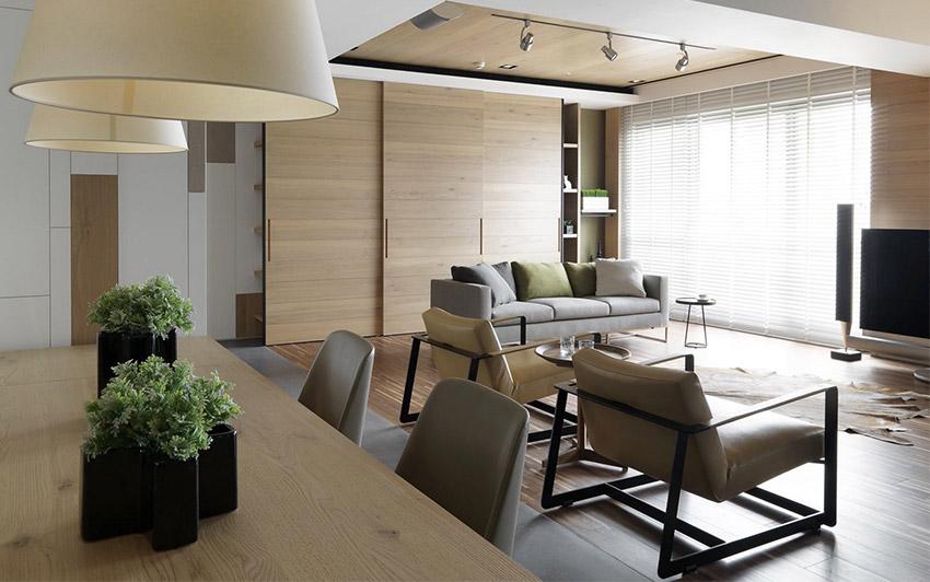 客厅图片来自金空间装饰集团在绿地新都会128平米新中式风格的分享