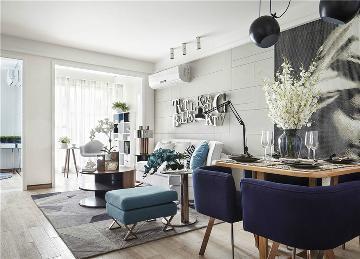60平米小户型的客厅