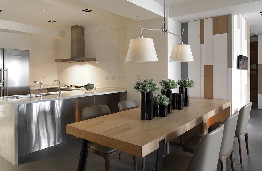 餐厅图片来自金空间装饰集团在绿地新都会128平米新中式风格的分享