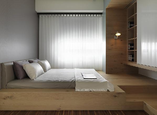 卧室图片来自金空间装饰集团在绿地新都会128平米新中式风格的分享