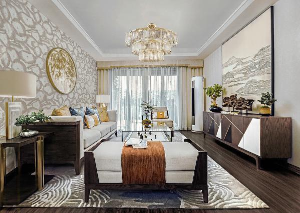 中式风格 三居 80后 白领 小资 客厅图片来自金空间装饰集团在八方小区的分享