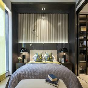 北欧 80后 三居 简约 卧室图片来自金空间装饰集团在怡海星城111.92平米北欧风的分享