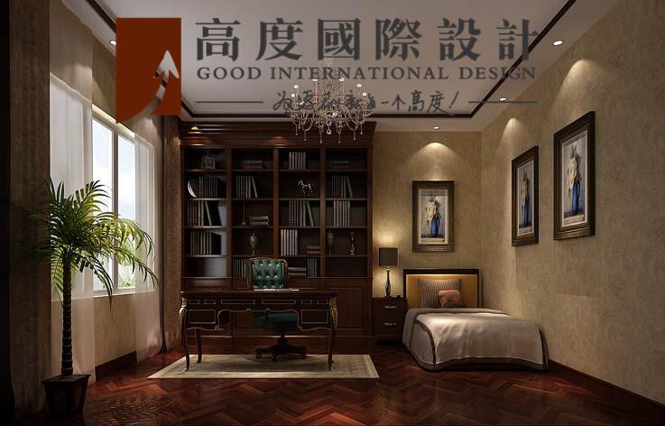 别墅 书房图片来自高度国际设计严振宇在四室两厅300平米户型港式风格的分享