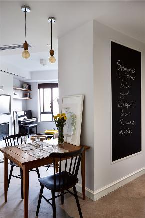 北欧 三居 80后 餐厅图片来自金空间装饰集团在万科里金域国际★北欧风的分享