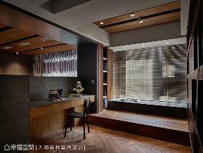 三居 东方 大户型 书房图片来自幸福空间在182平侘寂宅居 朴质内在寂静之美的分享