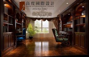 欧式 三居 简约 书房图片来自高度国际设计严振宇在金隅翡丽180平米简欧风格的分享