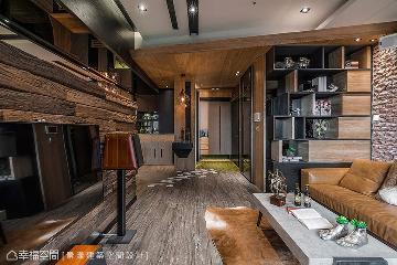 现代小木屋 139平创意工业精品宅